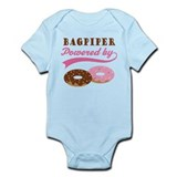 Bagpiper Powered By Donuts Onesie