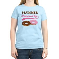Drummer Powered By Donuts Women's Light T-Shirt