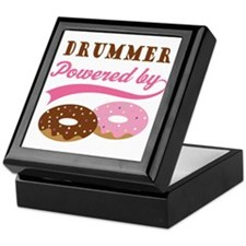 Drummer Powered By Donuts Keepsake Box