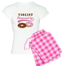 Violist Powered By Donuts Women's Light Pajamas