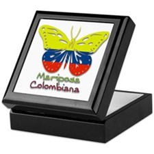 Mariposa Colombiana Keepsake Box