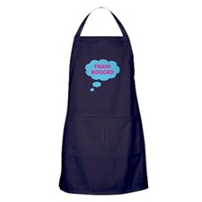Frain Bogged (brain fogged) Apron (dark)