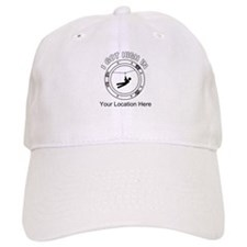 I Got High Zip (Personalized) Baseball Cap
