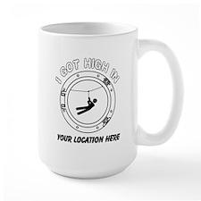 I Got High Zip (Personalized) Mug