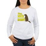 Lebowski: Nice Marmot! Women's Long Sleeve T-Shirt