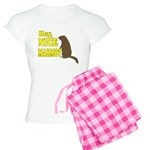 Lebowski: Nice Marmot! Women's Light Pajamas