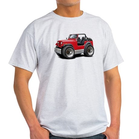 Jeep Red Light T-Shirt