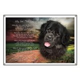 """Why God Made Dogs"" Newfoundland Banner"