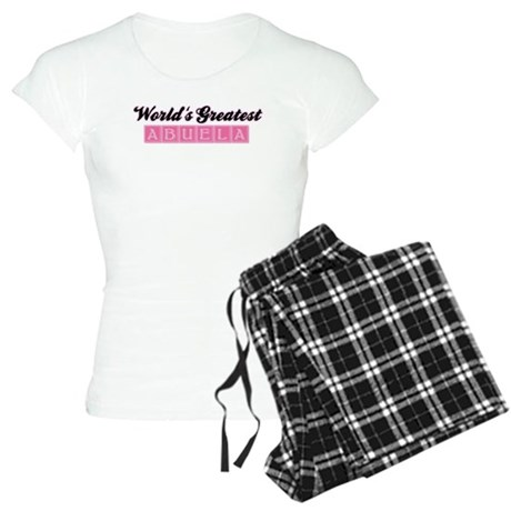 World's Greatest Abuela (pink Women's Light Pajama