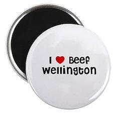 """I * Beef Wellington 2.25"""" Magnet (10 pack)"""