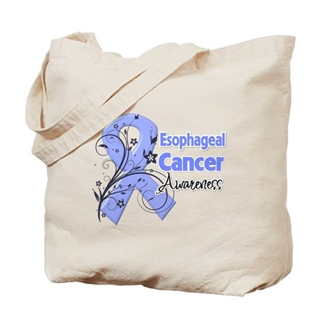Esophageal Cancer Awareness Tote Bag