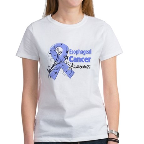 Esophageal Cancer Awareness Women's T-Shirt