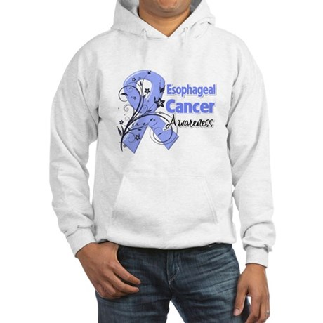 Esophageal Cancer Awareness Hooded Sweatshirt