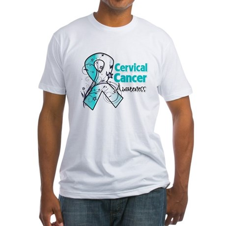 Cervical Cancer Awareness Fitted T-Shirt