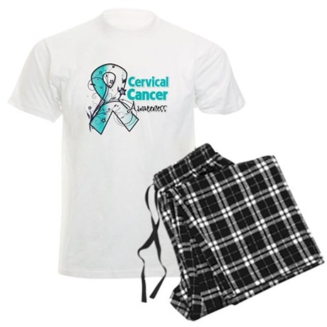Cervical Cancer Awareness Men's Light Pajamas