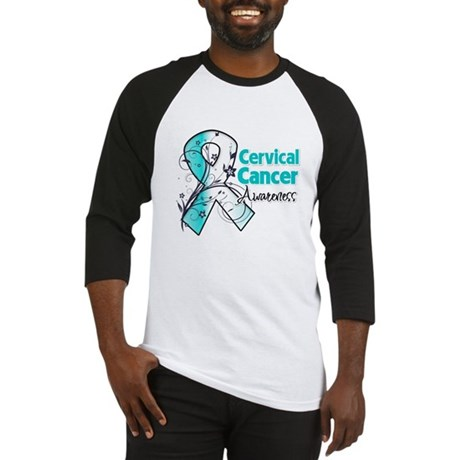 Cervical Cancer Awareness Baseball Jersey
