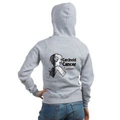 Carcinoid Cancer Awareness Women's Zip Hoodie