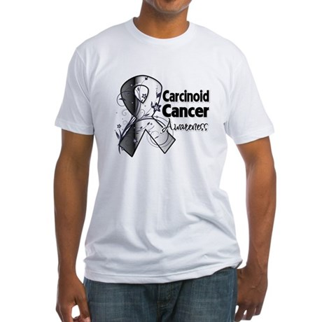 Carcinoid Cancer Awareness Fitted T-Shirt