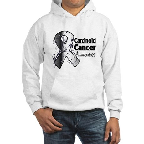 Carcinoid Cancer Awareness Hooded Sweatshirt