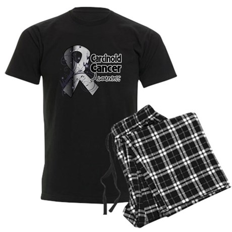 Carcinoid Cancer Awareness Men's Dark Pajamas