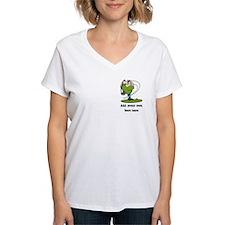Golf Cartoon, Custom Text Shirt