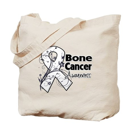 Bone Cancer Awareness Tote Bag