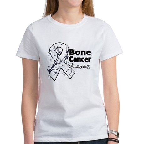 Bone Cancer Awareness Women's T-Shirt