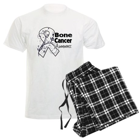 Bone Cancer Awareness Men's Light Pajamas