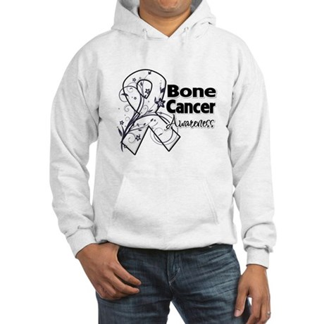 Bone Cancer Awareness Hooded Sweatshirt