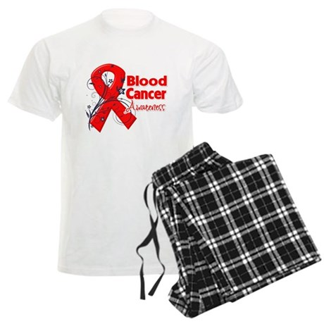 Blood Cancer Awareness Men's Light Pajamas