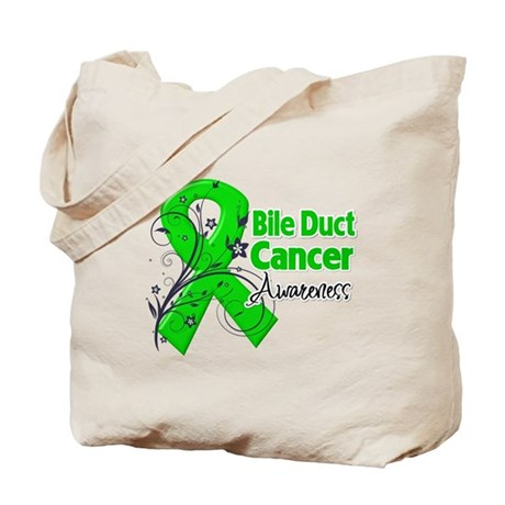 Bile Duct Cancer Awareness Tote Bag