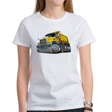 Mack Dump Truck Yellow Tee