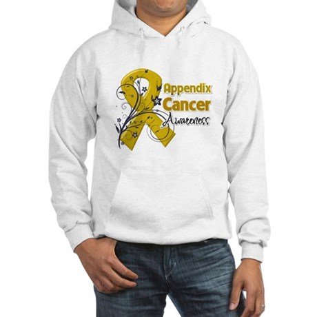 Appendix Cancer Awareness Hooded Sweatshirt