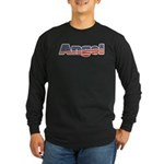American Angel Long Sleeve Dark T-Shirt