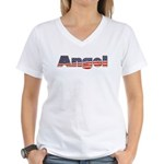 American Angel Women's V-Neck T-Shirt
