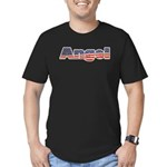 American Angel Men's Fitted T-Shirt (dark)