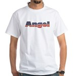 American Angel White T-Shirt
