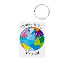 Quilter World Keychains