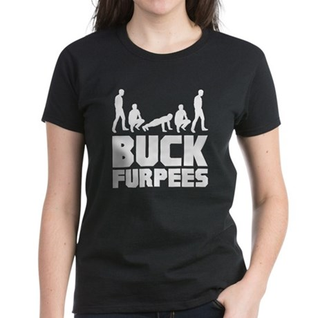 Buck Furpees Burpees Fitness Women's Dark T-Shirt