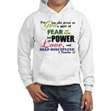 Power, Love, Self-discipline Hoodie