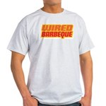 WiredBarbeque Ash Grey Tee Shirt