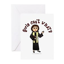 Light Preacher Greeting Cards (Pk of 20)