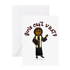 Dark Preacher Greeting Card