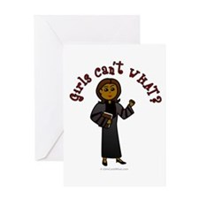 Dark Pastor Greeting Card