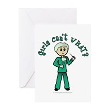 Light Surgeon Greeting Card