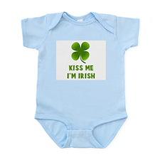 Kiss Me I'm Irish Infant Creeper