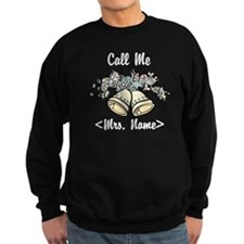 Custom Just Married (Mrs. Name) Sweatshirt