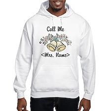 Custom Just Married (Mrs. Name) Hoodie