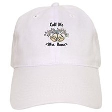 Custom Just Married (Mrs. Name) Baseball Cap