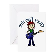 (Bettis) Custom Bass Guitar Greeting Card